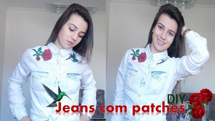 DIY: Jeans com patches