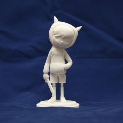 The wonders of 3D printing technology! Read about how this character was created.