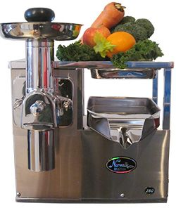 Norwalk Juicers - cold pressed to perfection!  Our juicer family is growing and we are delighted to introduce our newest 'pride and joy' – the latest Norwalk Juicer, the Model 280!    Our juices are extracted using Norwalk Juicers. Their unique hydraulic press completely extracts the natural fruit sugars, vitamins, trace minerals, enzymes, and other vital elements, up to five times more than other juicers.