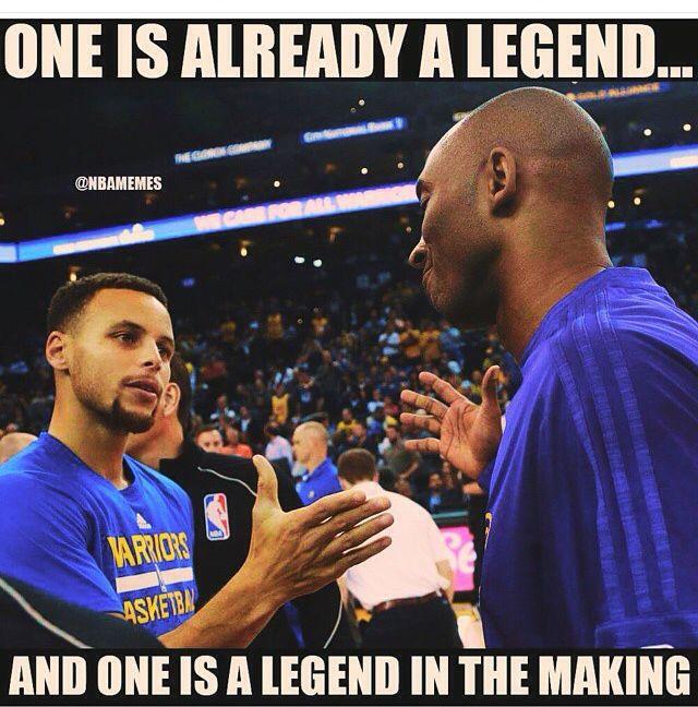 Kobe Bryant and steph curry