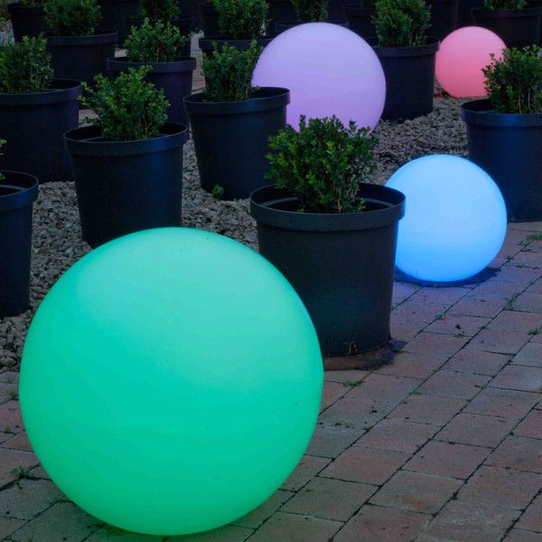 Orb Balls. Mobelli Illuminated Outdoor Furniture. With its interchangeable and remote controlled LED light inside, you can take it anywhere you want. No electrical cables, no mess, no fuss.