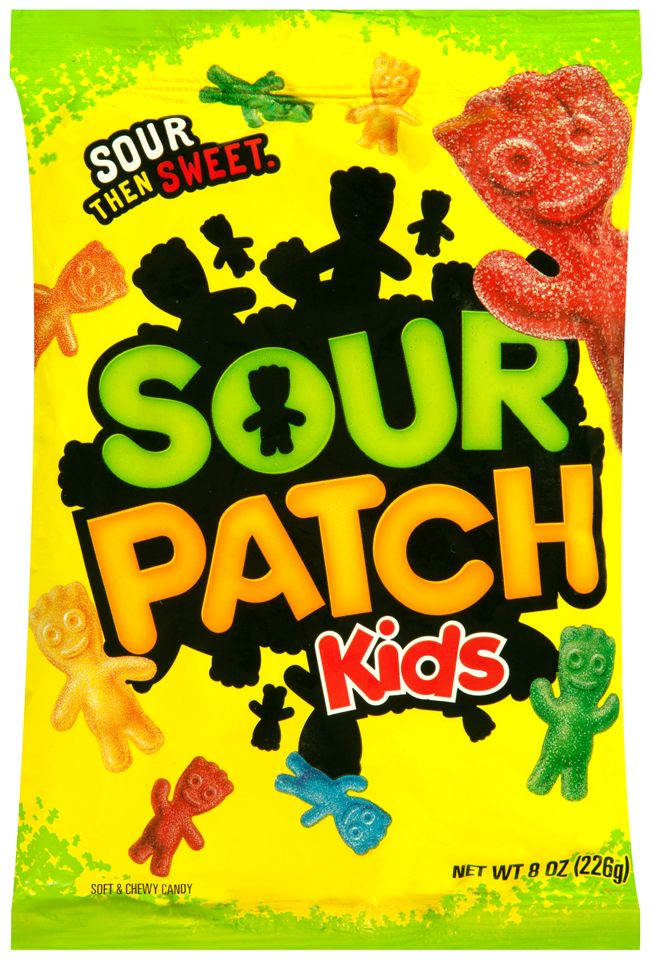 Sour Patch Kids Original Soft Chewy Candy 8 Oz Bag Walmart Com In 2021 Sour Patch Sour Patch Kids Kids Candy