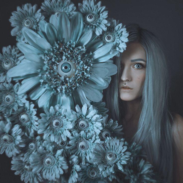Pansies - Self-portrait