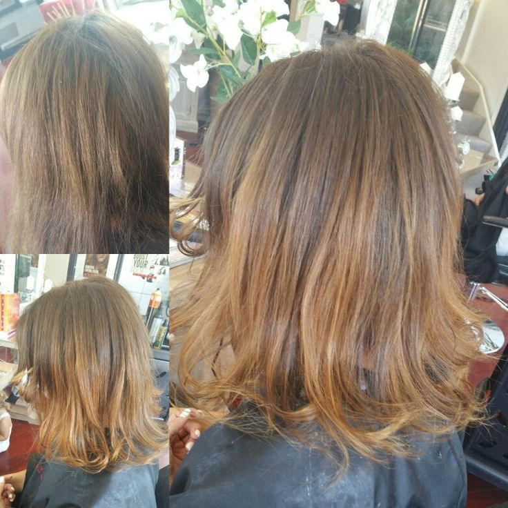 Natural sunkissed balayage