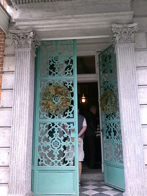 New Green Non Oxidized Making Them Black Wrought Iron Doors French Quarter Orleans To Your World In 2018 Pinterest