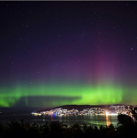 Aurora Australis as seen from the Australian and New Zealand mainlands - ABC News (Australian Broadcasting Corporation)