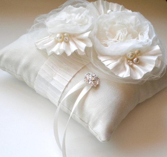 Ring Bearer Pillow & 121 best Wedding Ring Pillow\u0027s \u0026 Basket\u0027s images on Pinterest ... pillowsntoast.com