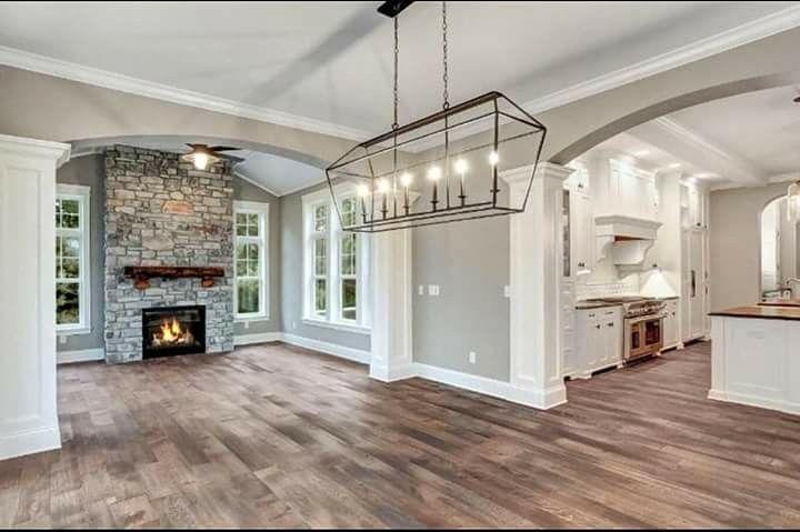 Agreeable Grey Sherwin Williams Living Room Wood Floor Wood