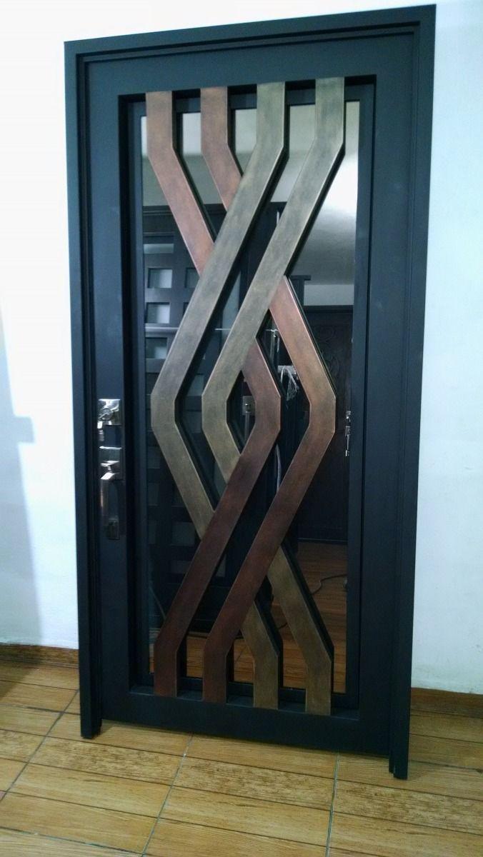 964 best kap lar doors images on pinterest entrance for Puertas metalicas entrada principal