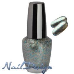 Smalto Glitter Azzurro Argento. Smalto glitterato, facile da stendere, rende le unghie brillanti. Ha un'effetto coprente e si asciuga facilmente.              In vendita su: http://www.trucconatura.com Disponibile: € 3,60