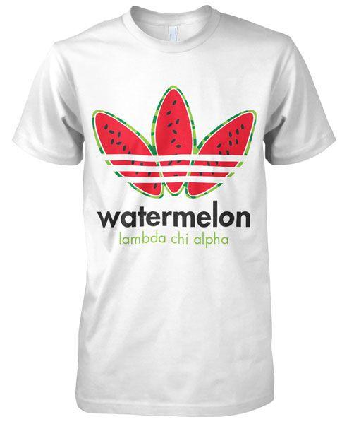 Lambda Chi Alpha Watermelon Bust T-shirt