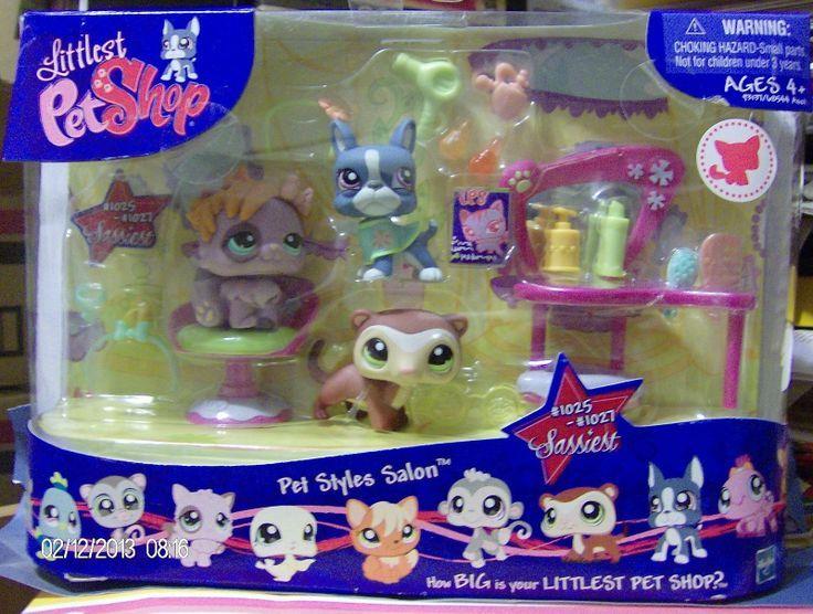 Littlest Pet Store Pets Kinds Salon 1025 1027 Theme Set New