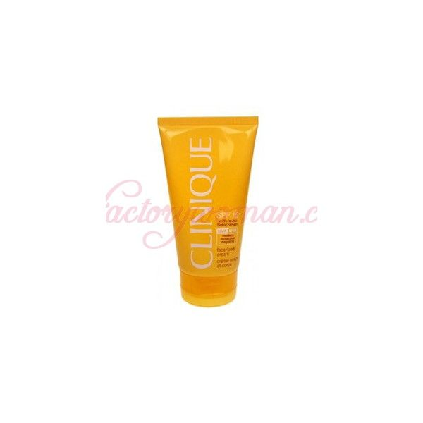 CLINIQUE SOLAR FACE / BODY CREAM SPF15 150ML