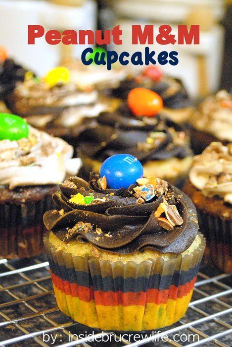 Peanut M Cupcakes   Inside BruCrew Life