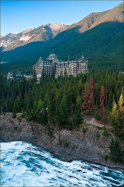 Banff Springs Hotel, the most beautiful place I have ever stayed <3 way to make a girl feel like a princess!