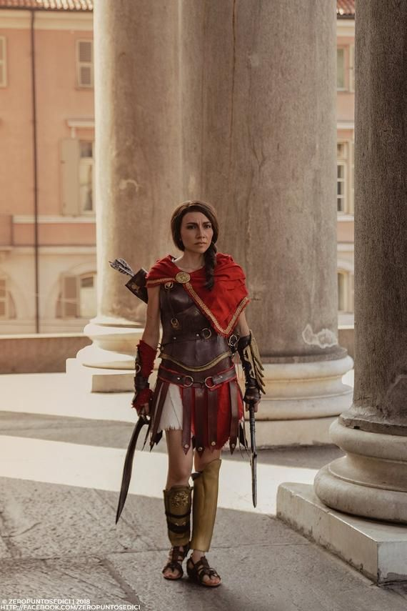 Kassandra Or Alexios Cosplay From Assassin S Creed Odyssey