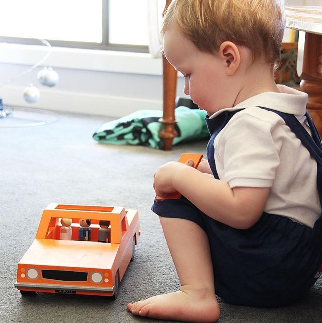 The Ute. This gorgeous orange ute is headed to the beach. With a surfboard esky and some mates it's an Aussie classic. Oh and don't forget to bring the dog and your tools. .  @nestdesignstudio http://ift.tt/1t2cZNf  . .  #lucaslovescars #ute #aussie #australian #classic #woodentoy #ecotoys #gift #giftideas #childhoodmemories#childhoodunplugged#childhood #playandlearn#toddlerplay#toddleractivities#toddleractivity #toysforboys #dad #mum #dadlife #mumslife#pretendplay#woodentoys #earlylearning…