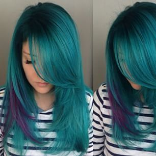 Oh how I miss my Pinterest worthy blue hair... I'll definitely get back on that when I'm back from Taiwan!