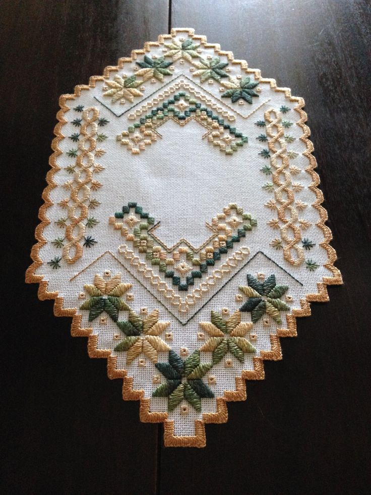 This is a kit from Nordicneedle.com; it was fun.