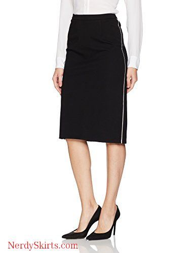 34e6ed4be Ellen Tracy Women's Pencil Skirt with Contrast Piping Detail in 2019 ...
