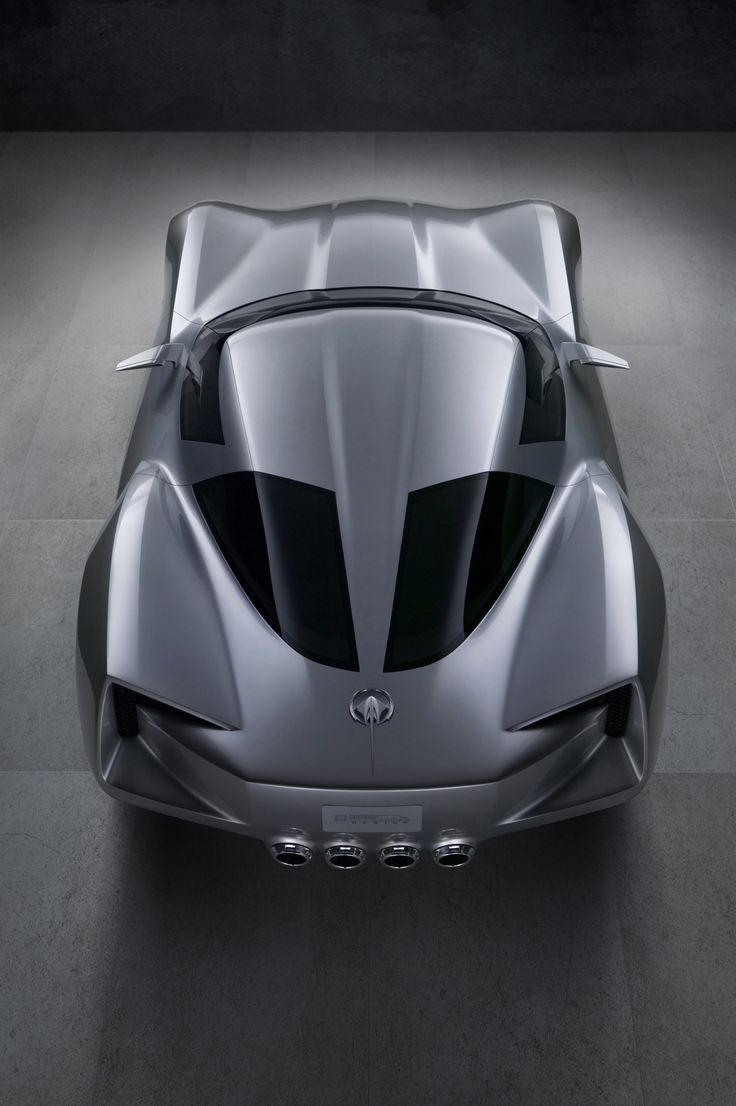 Corvette stingray concept top rear