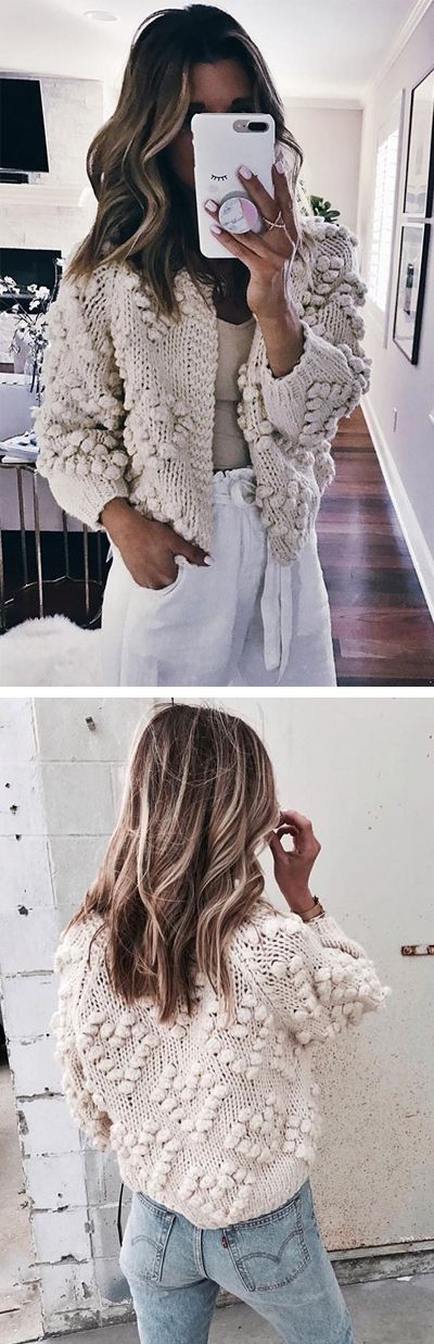 Give your wardrobe a subtle, classy upgrade. You deserve all of this cozy ivory glory. Knit Your Love Cardigan featured by Cellajaneblog