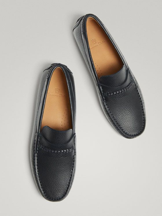 8c4b2da94ed MOCASIN PIEL KIOWA AZUL de HOMBRE - Zapatos - Mocasines de Massimo Dutti de  Otoño Invierno 2017 por 1995. ¡Elegancia natural!