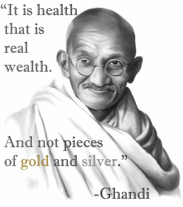 Health is wealth quote