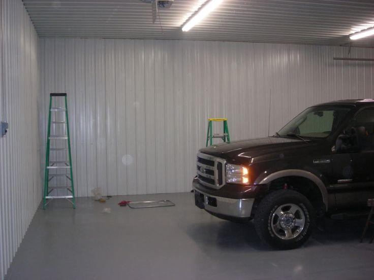 Metal On Garage Walls Google Search Garage Interior