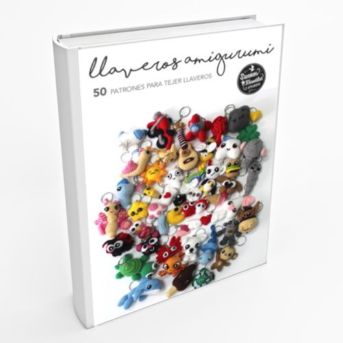 Llaveros Amigurumi: 50 Patrones para tejer llaveros amigurumi