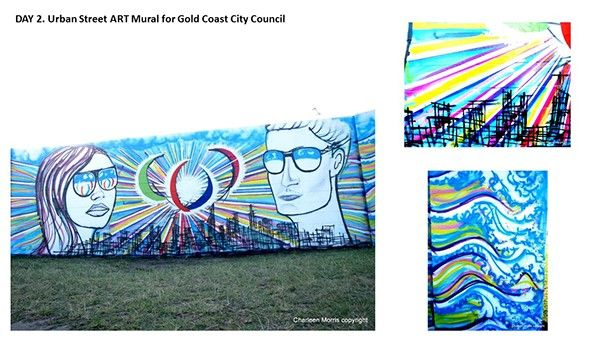 URBAN STREET ART PROJECT for GOLD COAST CITY COUNCIL on Behance