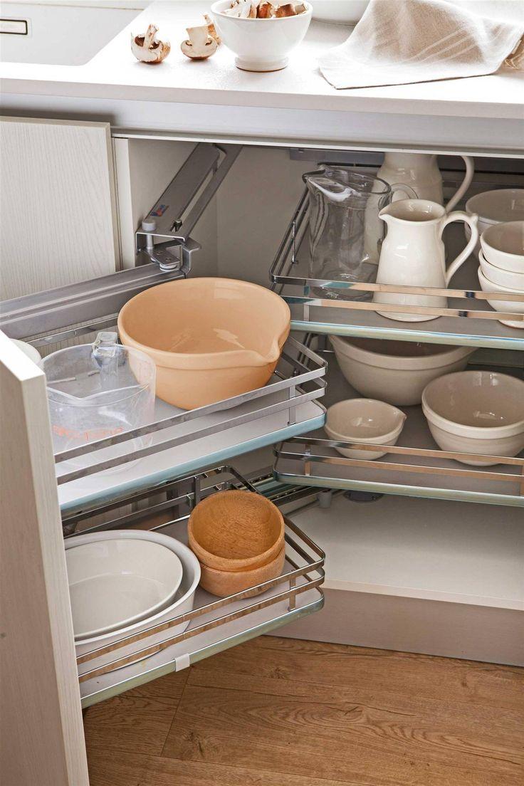 17 mejores ideas sobre organizar la peque a despensa en - Organizacion armarios ...