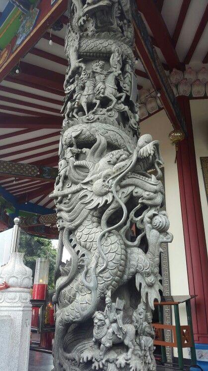 Avalokitesvara Pagoda, Semarang - The Pillar of Dragon...