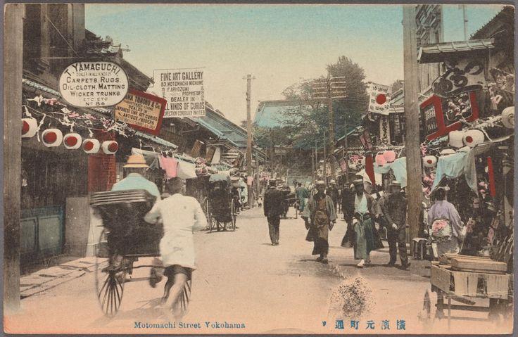 横浜・元町通り