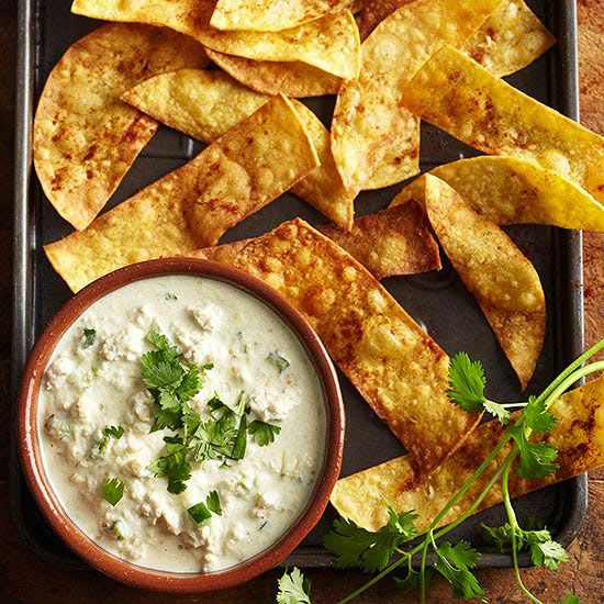 Try this fresh Queso Verde dip at your summer parties! Your guests will love it: http://www.bhg.com/recipes/seasonal/easy-dip-recipes/?socsrc=bhgpin063014quesoverdedip&page=4