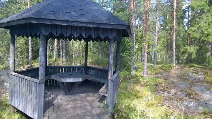 Gazebo  in Korpilampi Espoo