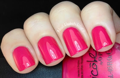 Nail Polish Wars: Nicole by OPI Modern Family Collection Swatch & Review