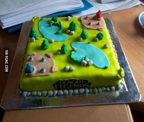 My boyfriend's birthday cake... what do you guys think?