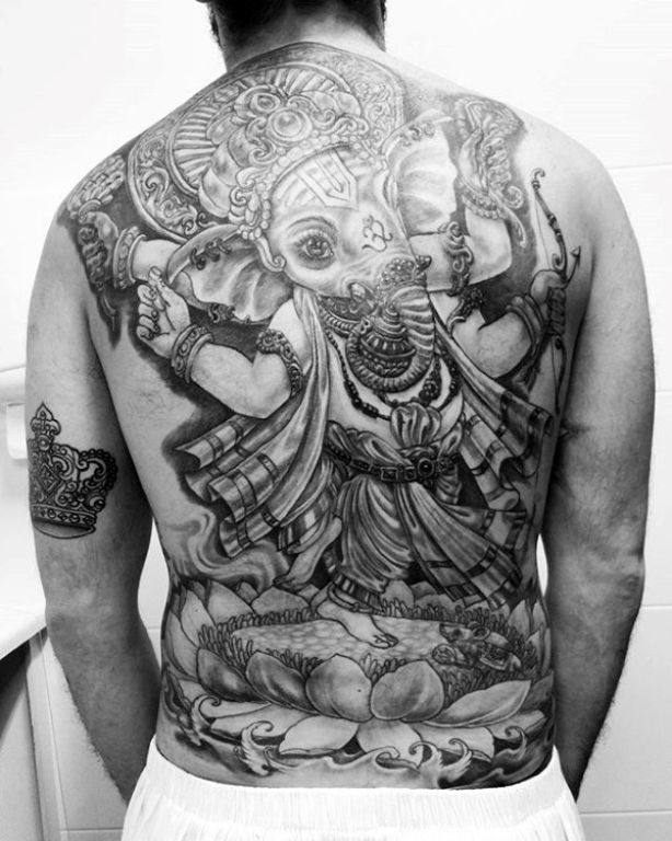 Ganesha Tattoo Goa - Sandy Tattoo Studio - India