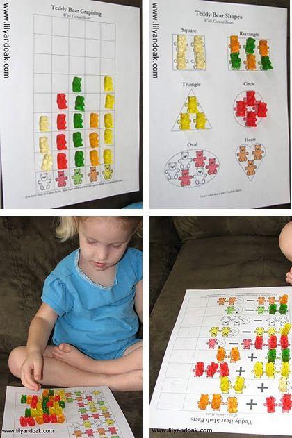 5 imprimibles divertidos para aprender matemáticas - Aprendiendo matemáticas