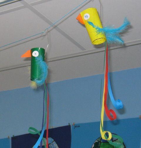 papegaaitje in de lucht...