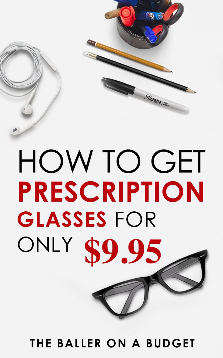 Looking for some cheap prescription glasses? I got a pair of my own for $9.95, and after shipping the total was $19.85 - still under $20! Click here to see how you can get your own pair for the same price. - www.theballeronabudget.com