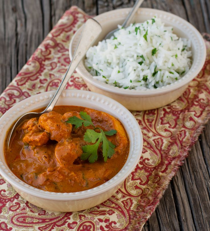 This simple chicken dish is great served with basmati rice and roti.