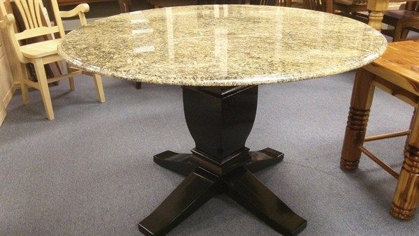 Heavy Table Tops Choosing The Best Base For Marble Or Granite Granite Dining Table Granite Table Granite Table Top