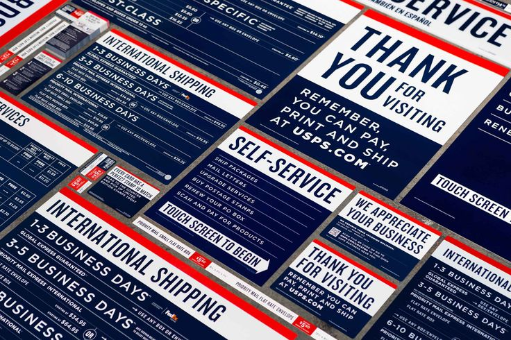 GrandArmy | United States Postal Service Retail Rebrand| REDESIGNING AN AMERICAN INSTITUTION