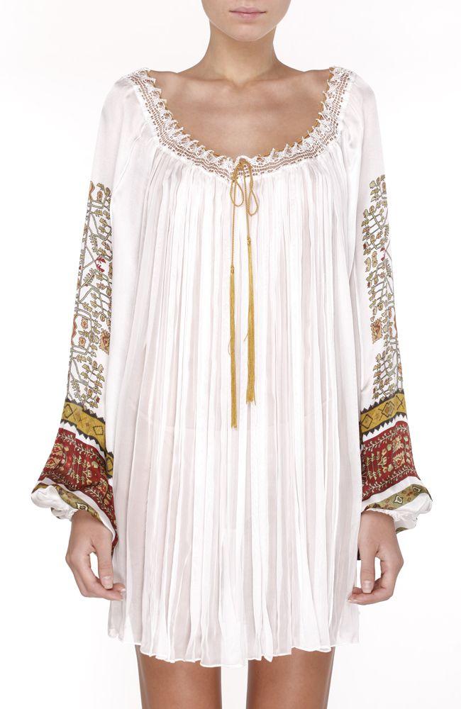Valentina Vidrascu boho dress