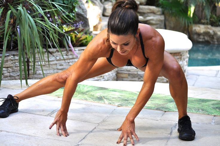 Total Body Interval Workout with dumbbells. Burn 300 calories and fire up your metabolism. Tone , build and sculpt your body with Christine Khuri. You'll need 3-10 lbs dumbbells. Build your own workouts using mini videos or GIFS at gymra.com . Start your free month now!!! Cancel anytime.
