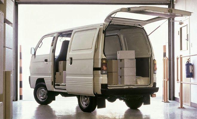 Bedford Rascal Or Is It A Suzuki Super Carry Camper