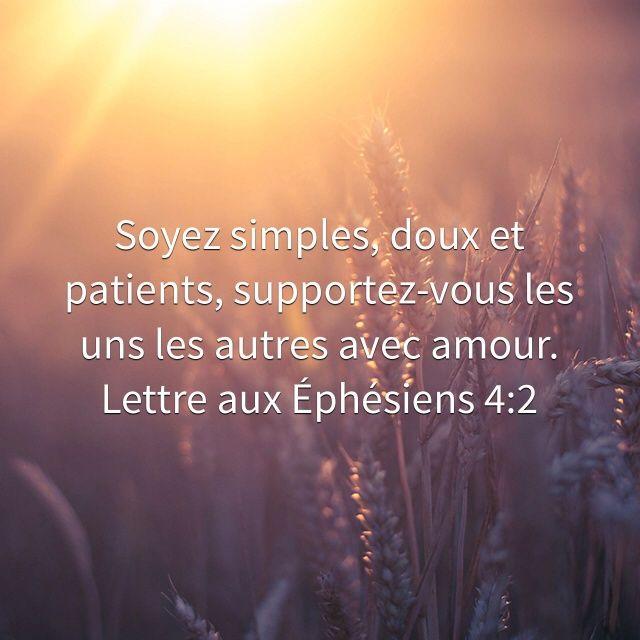 Françoise Longuemard a créé un verset illustré pour <b>Lettre aux Éphésiens 4:2</b>   Bible.com