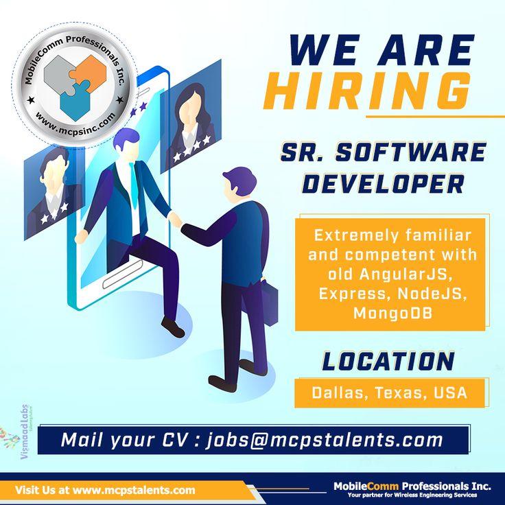 Senior Software Developer Job at Dallas Business analyst